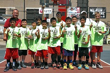 NY Titans - 6th Gr & U Open Division Champions